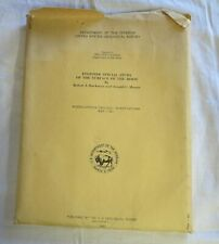 1961 Geological Survey Lunar Ray Maps of the Moon APOLLO Engineer Special Study