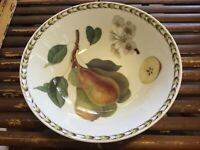 Rare Queen's Royal Horticultural Society Hookers Fruit Pear Cereal/Soup bowl