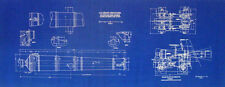 USS Constitution Bow Chaser Cannon Blueprint Display Plan (223)
