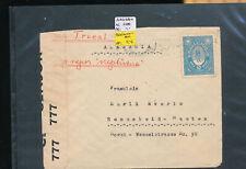 567543 / Paraguay Beleg EF ZENSUR nach Remscheid