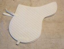 Kieffer Schabrak Katoen Blanket Liner White Bordeaux Horse Saddle Pad