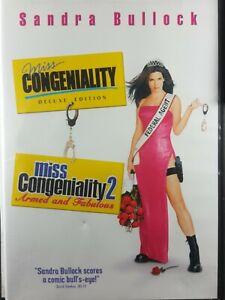 Miss Congeniality/Miss Congeniality 2-Armed and Fabulous (DVD, Widescreen)