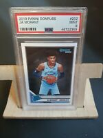 Ja Morant 2019-20 Donruss #202 RATED Rookie Grizzlies RC PSA 9 HOT Card! ROTY 🏀
