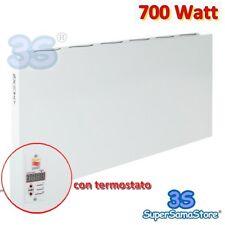 3S PANNELLO CONVETTORE ELETTRICO RADIANTE RAGGI INFRAROSSI 700 WATT + TERMOSTATO