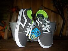AIRSPEED BOYS CASUAL SKATEBOARDING SHOES SIZE 13 COLOR GRAY GREEN KIDS SCHOOL