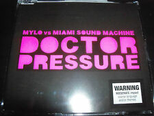 Mylo Vs The Miami Sound Machine Doctor Pressure AU 5 Track Remixes CD Single