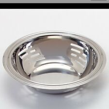 "Dura-Ware Round Slotted Bowl 7-7/8"" 18/8 Stainless Steel 9123 Deep"