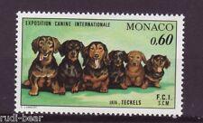 Monaco Nr.  1219 **  Hundeausstellung  Dackel