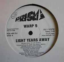 """Warp 9 White Label Prism Disco 12"""" Single 1983"""