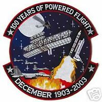 100 YEARS POWERED FLIGHT AVIATION TRIBUTE JACKET  PATCH
