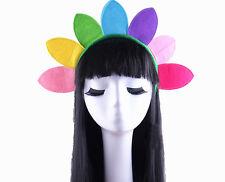 Sunflower Sun Flower Plant Colour Headband Hair Band Costume Fancy Dress New