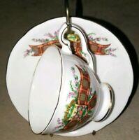 Royal Stafford Fine Bone China Tea Cup And saucer Set vintage