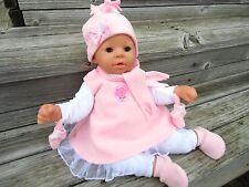 EISPRINZESSIN für Puppen Kleidung + Schuhe Gr.46-48 Annabell Chou Cookie Bambina