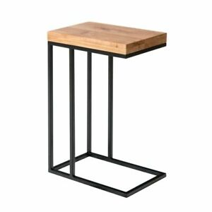 Marlo Industrial Oak Sofa Table / Occasional Unit / Side Table / End Unit