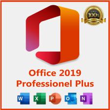 Microsoft Office 2019 Professional Pro Plus 32/64 Bit License Key activation