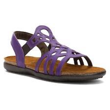 New $150 NAOT 'Rebecca' Purple leather sandals, sz 5