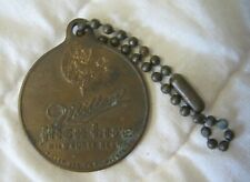 Estate Sale ~ Vintage Advertising Keychain Fob - Miller High Life