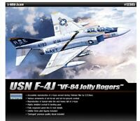 Academy 1/48 Scale USN F-4J VF-84 Jolly Rogers Premium Fighter Model Hobby