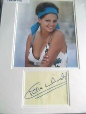 The Pink Panther CLAUDIA CARDINALE hand signed mount