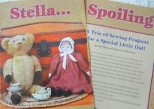 Uncut Patterns for Susan Fosnot Stella Ufdc Souvenir Doll & Small Doll/Quilt