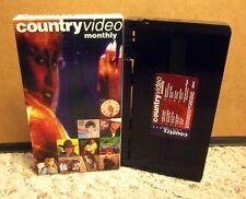 DWIGHT YOAKAM Shenandoah JOHN & AUDREY WIGGINS Faith Hill '94 country videos VHS