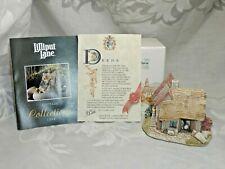"Lilliput Lane Village Sculpture ""Waterside Mill"" In Original Box With Deed 1994"
