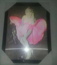 Marilyn 3d Wall Art Picture Hologram Effect-With Lipstick
