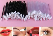 Disposable Lip Brush Makeup Wand Applicator Women Beauty Tool Black 50 pcs/pack