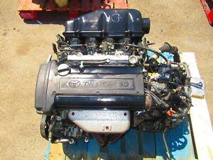 JDM Toyota Corolla Levin 4AGE 20Valve BlackTop Engine Automatic Transmission