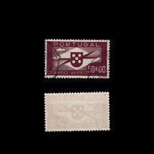 1936 Portugal AIR Mail 50$00 USED Stamp. Af#CA10. BoB. Propeller.