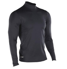 Under Armour Men's ColdGear Infrared Tactical Fitted Mock, Black /Black, X-Large
