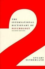 The International Dictionary of Psychology Revised Edition-ExLibrary