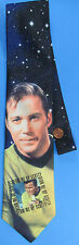 TIE '94 vtg Star Trek TOS - Capt KIRK Beam Me Up Scotty William Shatner necktie