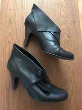 Faith Black Shoe Boots