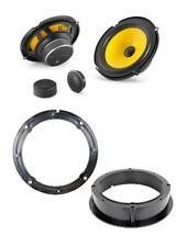 """JL Audio C1-650 6.5"""" component speaker upgrade VW Golf Mk4 front door"""