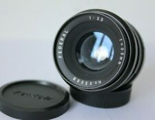 Pentax M42/ T2 Mount Federal 35mm f3.5  Manual Wide  Angle Preset Lens.