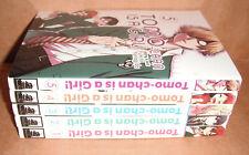 Tomo-chan is a Girl! Vol. 1,2,3,4,5 Manga Graphic Novels Set English