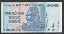 A6353 Zimbabwe 100000000000000 dollars 2008 aUNC