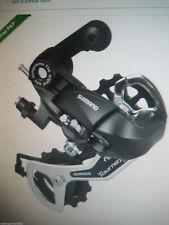 Shimano Tourney cycle / bike rear mech derailleur 5 6 & 7 speed bolt on RDTX35