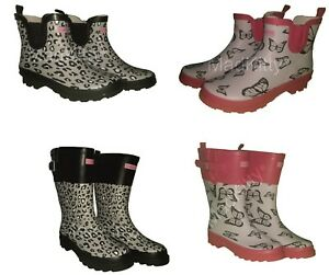 ladies wellies SLIGHT SECONDS in 4 styles and 6 sizes