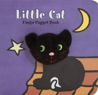 Little Cat: Finger Puppet Book (Little Finger Puppet Board Books) by Chronicle
