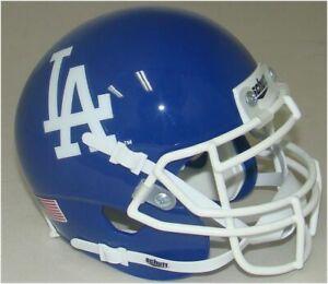 Los Angeles Dodgers MLB Schutt Mini FOOTBALL Helmet