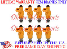 Lifetime Warranty - Set of 8 OEM 0280155725 Fuel Injectors