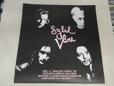 "Sybil Vane Swallow 12 Seattle 45 7"" New w Picture Sleeve w insert personals/porn"