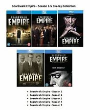 BOARDWALK EMPIRE COMPLETE SERIES 1 2 3 4 5 BLU RAY ALL EPISODES SEASONS SEALED
