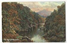 Scotland - The Pass of Killiecrankie - Postcard franked 1906