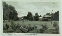 .SWAN HILL , THE PARK VICTORIA ROSE SERIES P 10972 VINTAGE POSTCARD