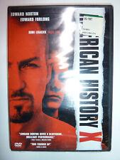 American History X Dvd movie crime drama race relations Edward Norton New!