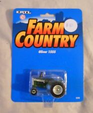 Ertl Farm Country Toy Machines Oliver 1555 Tractor MIP 1/64!