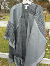 Coldwater Creek grey cape; women's one size; New w/o tags